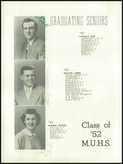 Page 22, 1952 Edition, Monroe Union High School - Dragon Yearbook (Monroe, OR) online yearbook collection