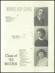 Page 23, 1952 Edition, Monroe Union High School - Dragon Yearbook (Monroe, OR) online yearbook collection