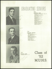 Page 24, 1952 Edition, Monroe Union High School - Dragon Yearbook (Monroe, OR) online yearbook collection