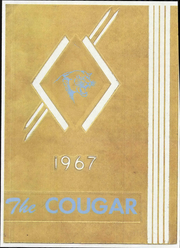1967 Edition, Crow High School - Cougar Yearbook (Eugene, OR)
