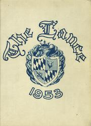 1953 Edition, St Marys High School - Lance Yearbook (Medford, OR)