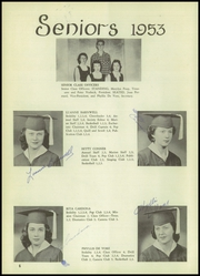 Page 10, 1953 Edition, St Marys High School - Lance Yearbook (Medford, OR) online yearbook collection