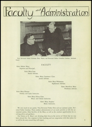 Page 7, 1953 Edition, St Marys High School - Lance Yearbook (Medford, OR) online yearbook collection