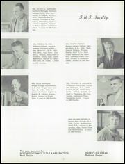 Page 11, 1959 Edition, Sisters High School - Outlaw Yearbook (Sisters, OR) online yearbook collection