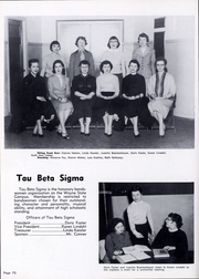 Page 74, 1957 Edition, Wayne State College - Spizz Yearbook (Wayne, NE) online yearbook collection