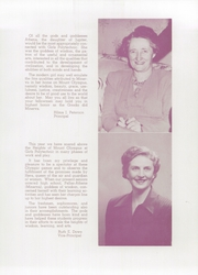 Page 9, 1949 Edition, Girls Polytechnic High School - Maid Yearbook (Portland, OR) online yearbook collection