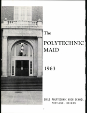 Page 6, 1963 Edition, Girls Polytechnic High School - Maid Yearbook (Portland, OR) online yearbook collection