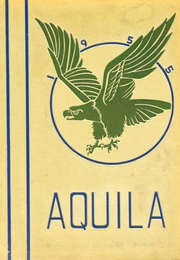 1955 Edition, WyEast High School - Aquila Yearbook (Hood River, OR)