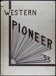 Page 1, 1955 Edition, Western Mennonite School - Pioneer Yearbook (Salem, OR) online yearbook collection