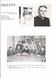 Page 15, 1955 Edition, Western Mennonite School - Pioneer Yearbook (Salem, OR) online yearbook collection