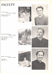 Page 17, 1955 Edition, Western Mennonite School - Pioneer Yearbook (Salem, OR) online yearbook collection