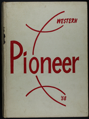 1958 Edition, Western Mennonite School - Pioneer Yearbook (Salem, OR)