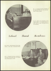 Page 9, 1955 Edition, Echo High School - Echoes Yearbook (Echo, OR) online yearbook collection