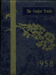 1958 Edition, Ukiah High School - Cougar Tracks Yearbook (Ukiah, OR)