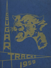 1959 Edition, Ukiah High School - Cougar Tracks Yearbook (Ukiah, OR)