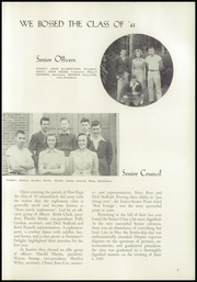 Page 15, 1941 Edition, University High School - Duckling Yearbook (Eugene, OR) online yearbook collection