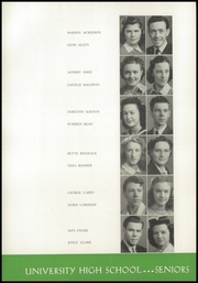 Page 16, 1941 Edition, University High School - Duckling Yearbook (Eugene, OR) online yearbook collection