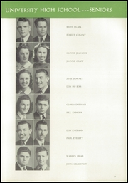 Page 17, 1941 Edition, University High School - Duckling Yearbook (Eugene, OR) online yearbook collection