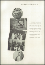 Page 6, 1941 Edition, University High School - Duckling Yearbook (Eugene, OR) online yearbook collection