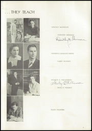 Page 9, 1941 Edition, University High School - Duckling Yearbook (Eugene, OR) online yearbook collection
