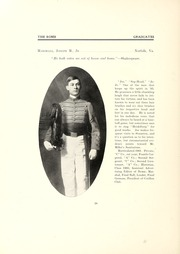 Page 44, 1905 Edition, Virginia Military Institute - Bomb Yearbook (Lexington, VA) online yearbook collection