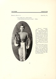 Page 46, 1905 Edition, Virginia Military Institute - Bomb Yearbook (Lexington, VA) online yearbook collection