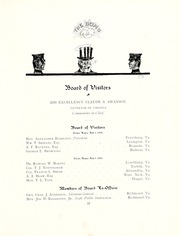 Page 15, 1908 Edition, Virginia Military Institute - Bomb Yearbook (Lexington, VA) online yearbook collection
