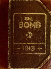 1913 Edition, Virginia Military Institute - Bomb Yearbook (Lexington, VA)