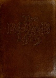 1915 Edition, Virginia Military Institute - Bomb Yearbook (Lexington, VA)