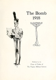 Page 9, 1918 Edition, Virginia Military Institute - Bomb Yearbook (Lexington, VA) online yearbook collection