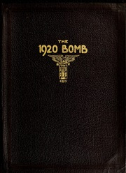 1920 Edition, Virginia Military Institute - Bomb Yearbook (Lexington, VA)