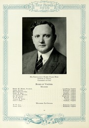 Page 14, 1929 Edition, Virginia Military Institute - Bomb Yearbook (Lexington, VA) online yearbook collection