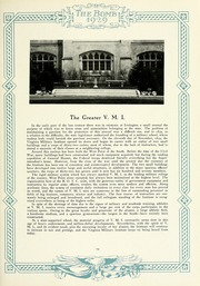Page 17, 1929 Edition, Virginia Military Institute - Bomb Yearbook (Lexington, VA) online yearbook collection