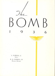 Page 6, 1936 Edition, Virginia Military Institute - Bomb Yearbook (Lexington, VA) online yearbook collection