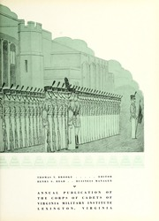 Page 7, 1937 Edition, Virginia Military Institute - Bomb Yearbook (Lexington, VA) online yearbook collection