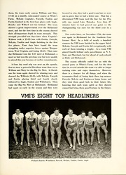 Page 199, 1953 Edition, Virginia Military Institute - Bomb Yearbook (Lexington, VA) online yearbook collection
