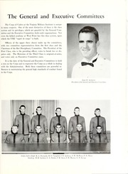 Page 21, 1962 Edition, Virginia Military Institute - Bomb Yearbook (Lexington, VA) online yearbook collection
