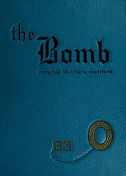 Page 1, 1963 Edition, Virginia Military Institute - Bomb Yearbook (Lexington, VA) online yearbook collection