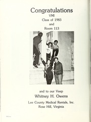 Page 436, 1983 Edition, Virginia Military Institute - Bomb Yearbook (Lexington, VA) online yearbook collection