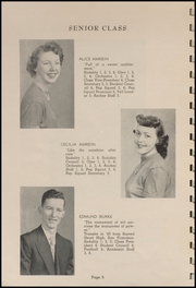 Page 10, 1952 Edition, Tillamook Catholic High School - Academic Yearbook (Tillamook, OR) online yearbook collection