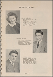 Page 11, 1952 Edition, Tillamook Catholic High School - Academic Yearbook (Tillamook, OR) online yearbook collection
