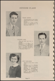 Page 12, 1952 Edition, Tillamook Catholic High School - Academic Yearbook (Tillamook, OR) online yearbook collection