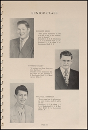 Page 13, 1952 Edition, Tillamook Catholic High School - Academic Yearbook (Tillamook, OR) online yearbook collection