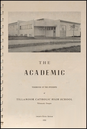 Page 3, 1952 Edition, Tillamook Catholic High School - Academic Yearbook (Tillamook, OR) online yearbook collection