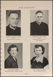 Page 5, 1952 Edition, Tillamook Catholic High School - Academic Yearbook (Tillamook, OR) online yearbook collection
