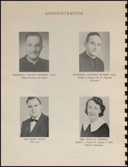 Page 10, 1957 Edition, Tillamook Catholic High School - Academic Yearbook (Tillamook, OR) online yearbook collection