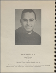 Page 8, 1957 Edition, Tillamook Catholic High School - Academic Yearbook (Tillamook, OR) online yearbook collection
