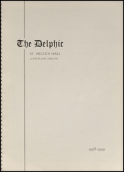 Page 5, 1939 Edition, St Helens Hall High School - Delphic Yearbook (Portland, OR) online yearbook collection