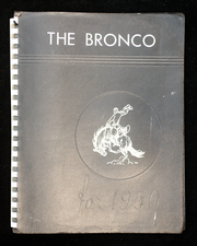 1950 Edition, Coburg High School - Bronco Yearbook (Eugene, OR)