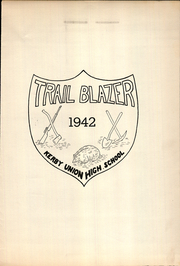 Page 5, 1942 Edition, Kerby Union High School - Trail Blazer Yearbook (Kerby, OR) online yearbook collection
